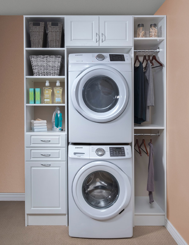 Laundry Room Cabinets Shelving