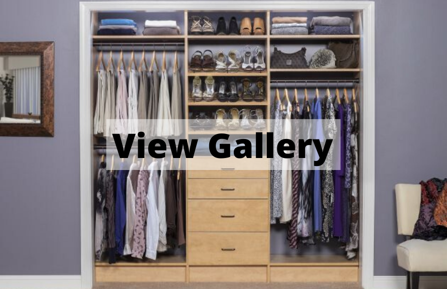 Reach In Closet Photo Gallery